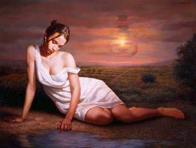 hechizo de amor bella mujer
